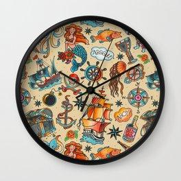 Ship Ahoy! Wall Clock