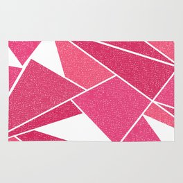 Abstract Mountain Rug