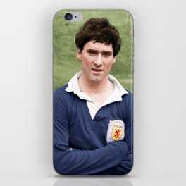 Jim Baxter Scotland iPhone Skin