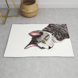 Ollie the Tabby Cat Rug