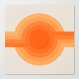 Sunspot -  Creamsicle Canvas Print