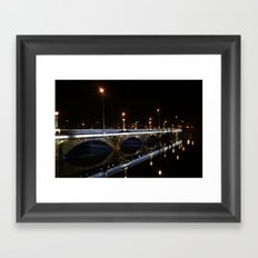Queens Bridge Belfast Framed Art Print