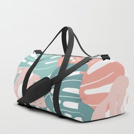 Monstera leaves Duffle Bag