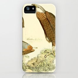 Haliaeetus vociferoides 1868 1 iPhone Case