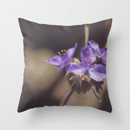 Texas Wildflower II Throw Pillow