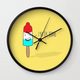 Da Bomb Wall Clock