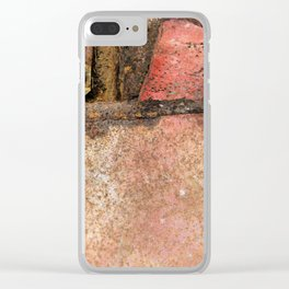 State of disrepair Clear iPhone Case
