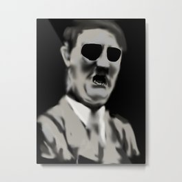 29- AdolfHitler & his Mouth Metal Print