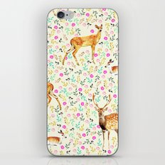 Deers #society6 #illustration #christmas iPhone & iPod Skin