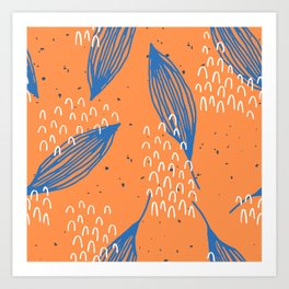 Autumn - Leaves And Cold Wind Art Print