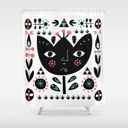 Folksy - Day Shower Curtain