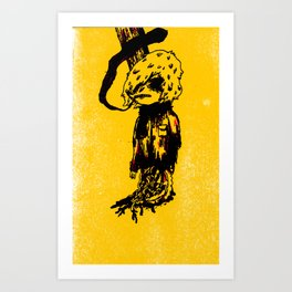 truck murder Art Print