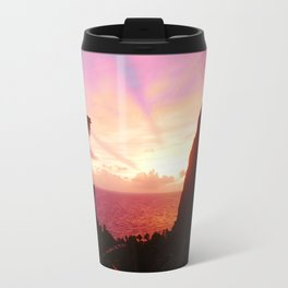 St Lucian Sunset Travel Mug