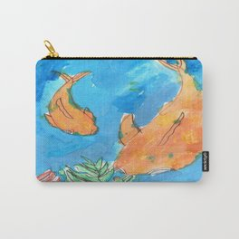 Aiden Koi Carry-All Pouch