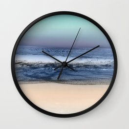 Twilight Sea Wall Clock