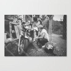Mumbercycle Canvas Print