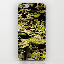 Wild Comfrey & Blackberries.... iPhone Skin