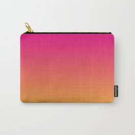 Ombre   Color Gradients   Gradient   Two Tone   Pink   Orange   Carry-All Pouch