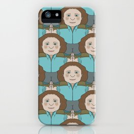 Push Back Tessellation iPhone Case
