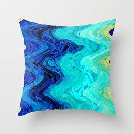 OCEAN MOOD Throw Pillow