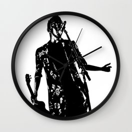 Black and white Tyler Wall Clock