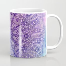big paisley mandala in light purple Coffee Mug