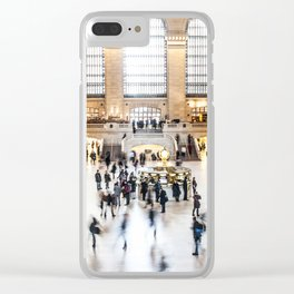 Grand Central Station New York City Clear iPhone Case