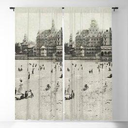 1889 Narragansett Towers, Casino, & Rockingham Hotel, Narragansett, Rhode Island Blackout Curtain