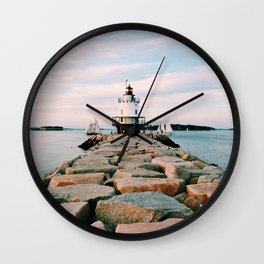 Spring Point Lighthouse Wall Clock