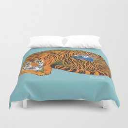 The wild beast is reasting Duvet Cover