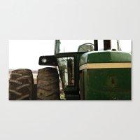 john green Canvas Prints featuring John Deere Green by Andrea Warren Photography