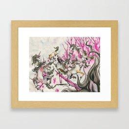 Tame Framed Art Print
