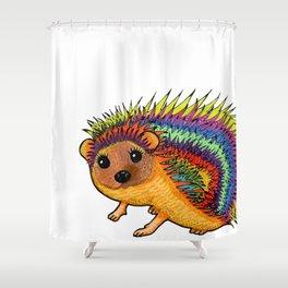 Miss Harriet Hedgehog Shower Curtain