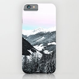 Snowy Mountains iPhone Case