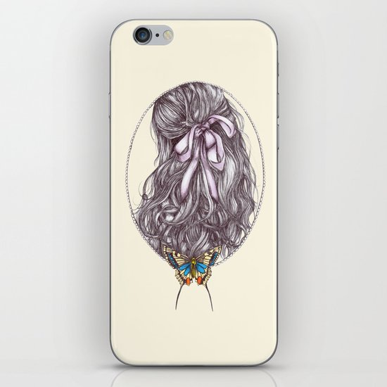 Bow and Butterfly iPhone & iPod Skin