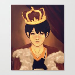 King of the Court Canvas Print