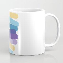 Side multicolor lines Coffee Mug