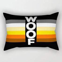 bear flag for LGBT pride or Bear Week Rectangular Pillow