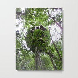 Treehouse in the Canopy Metal Print