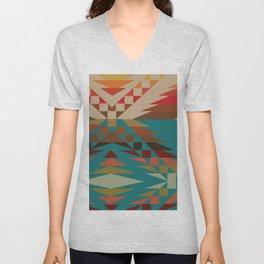 American Native Pattern No. 81 Unisex V-Neck