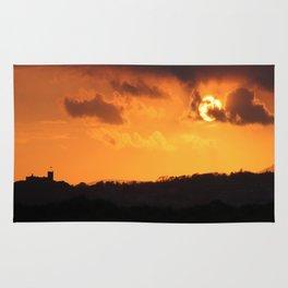 Glorious Golden Sunset Rug