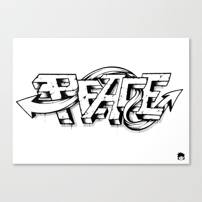 Peace Canvas Print