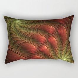 Fantasy Fractal, Coloful And Luminous Rectangular Pillow