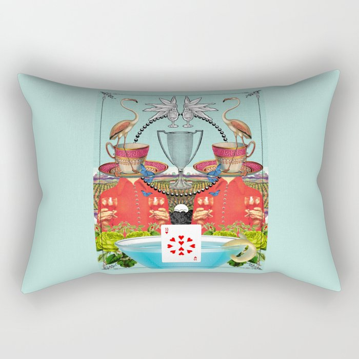 Ten of Cups Rectangular Pillow