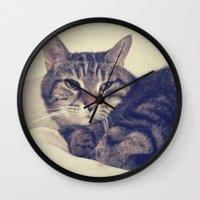 kandinsky Wall Clocks featuring Kandinsky by Nita Bond