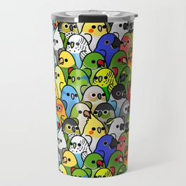 Too Many Birds!™ Bird Squad Classic Travel Mug