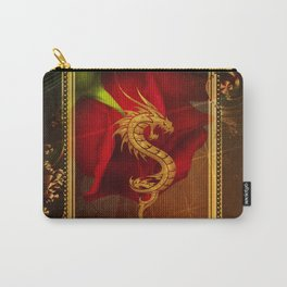 Wonderful chinese dragon, gold colors Carry-All Pouch