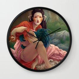 Fox Spirit's Prize Wall Clock
