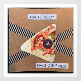 Nachos Art Print