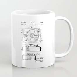 Turntable Patent Coffee Mug